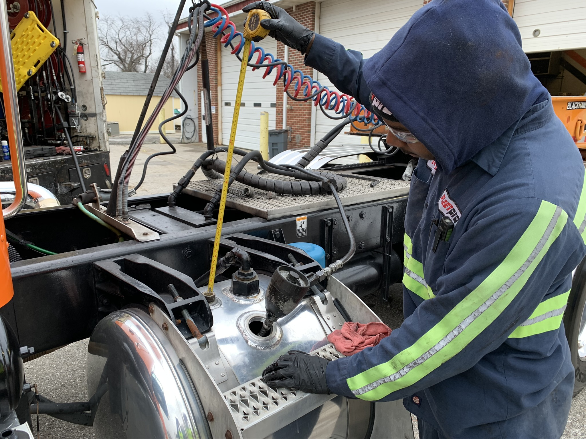 On-Site Preventative Maintenance and Inspection